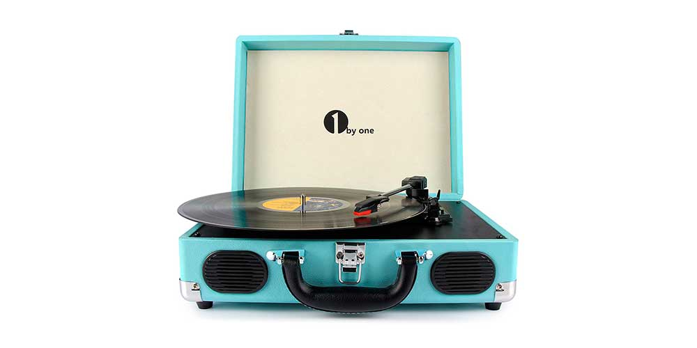 1byone Belt-Drive Turntable