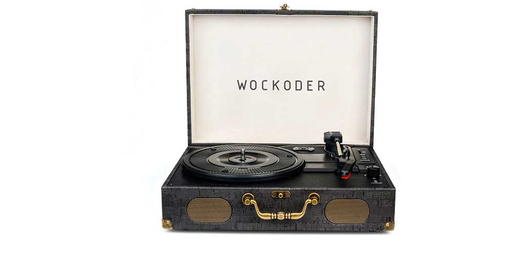 Wockoder Turntable
