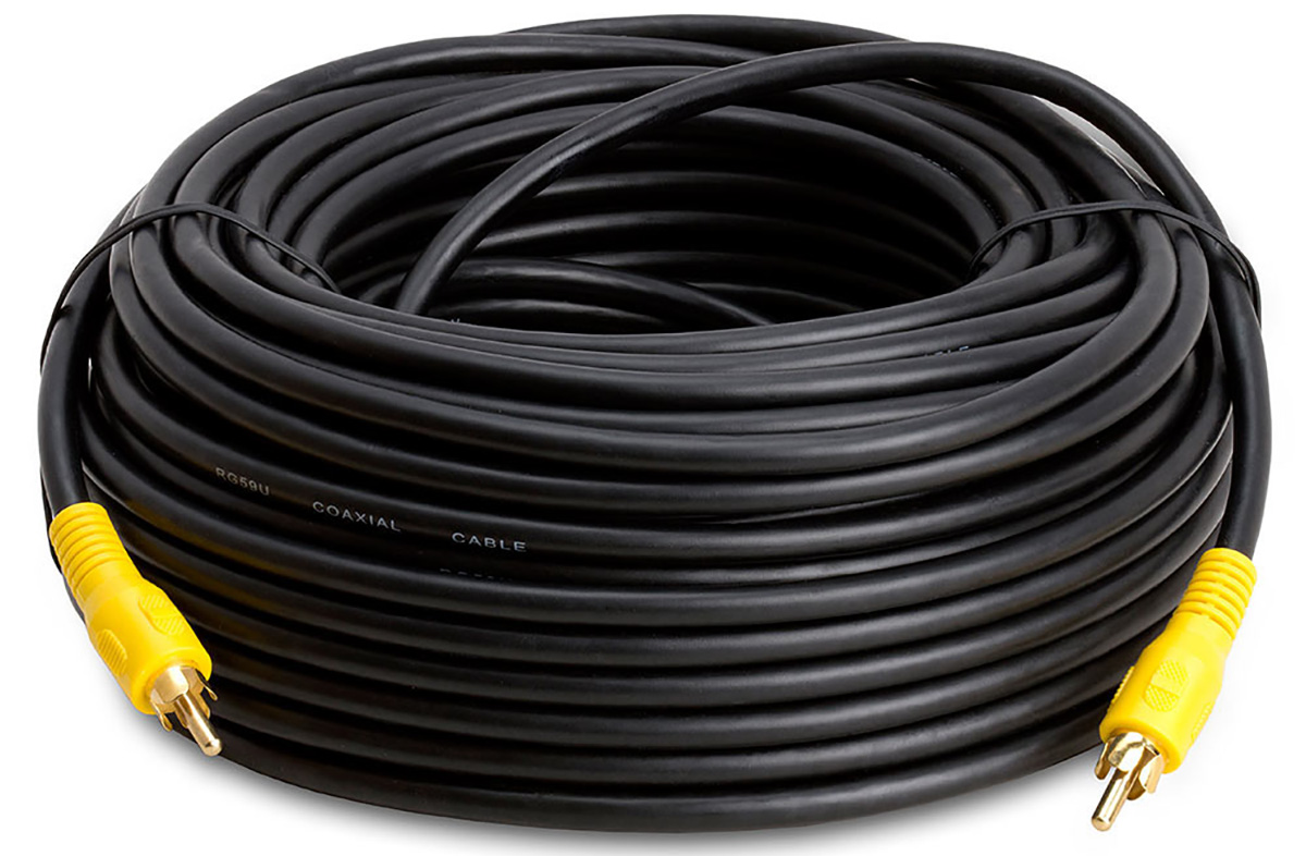 How do you hook up a subwoofer cable