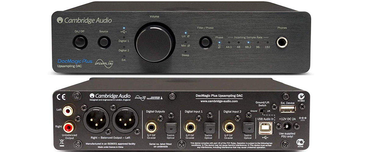 Cambridge Audio Azur DacMagic Plus