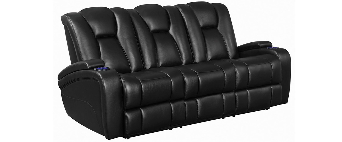 Delange Reclining Power Sofa