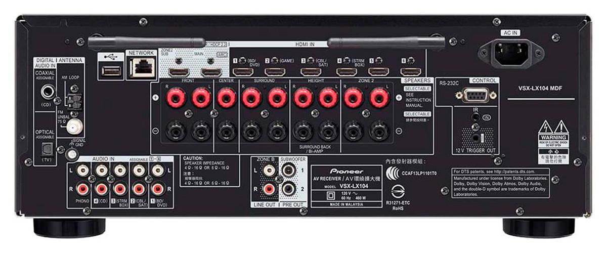 Pioneer VSX-LX104